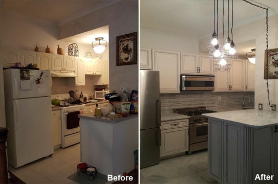 Alex B - New York, NY - Kitchen Remodeling