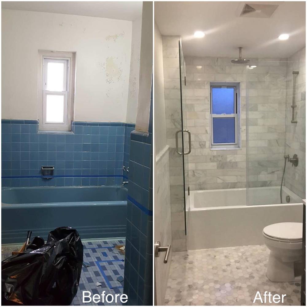 Carrol B Bronx NY Beyond Designs Remodeling - Bathroom remodeling bronx ny