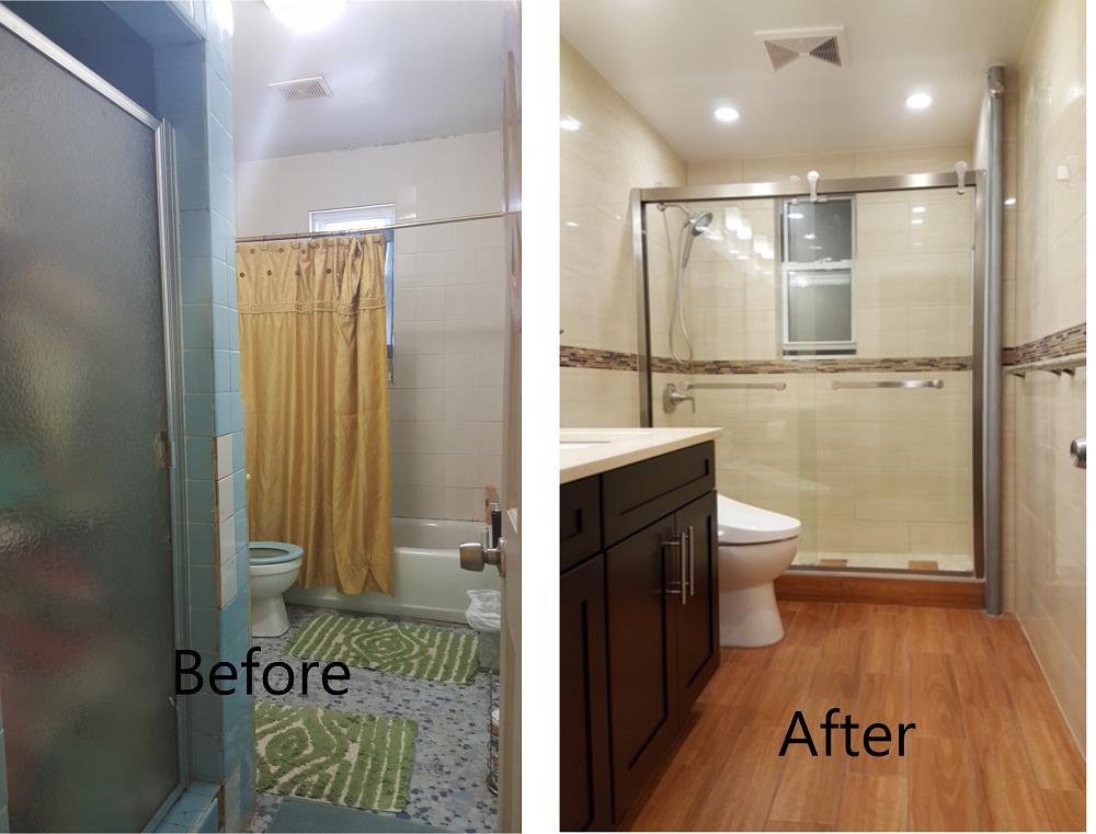 Eunice B - Bathroom Remodeling