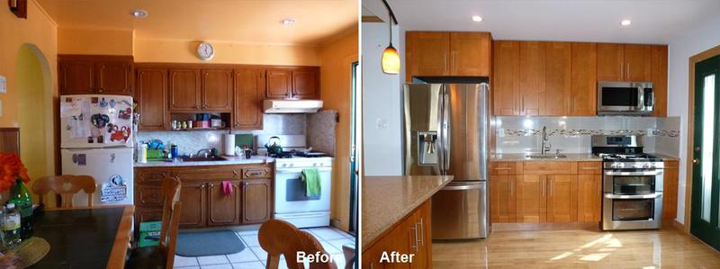 Henry B - Brooklyn, NY - Kitchen Remodeling