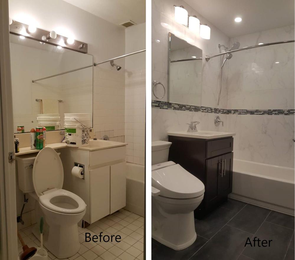 Jamel L - Bathroom Remodeling
