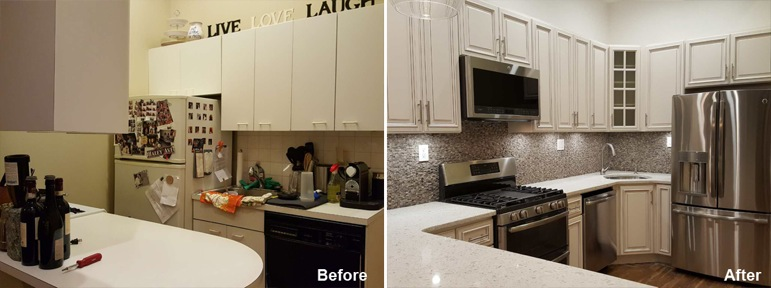Jason R - Brooklyn, NY - Kitchen Remodeling