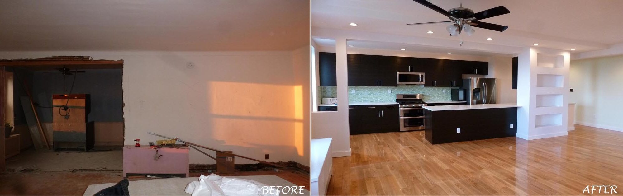 Laura S - Brooklyn, NY - Apartment Remodeling