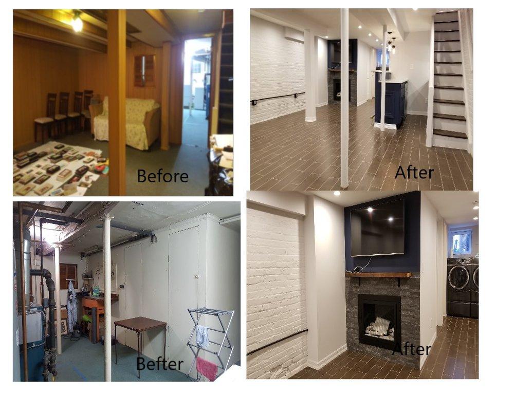Rei Y - Basement Remodeling
