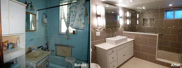 Bathroom Renovation Gallery Beyond Designs Remodeling